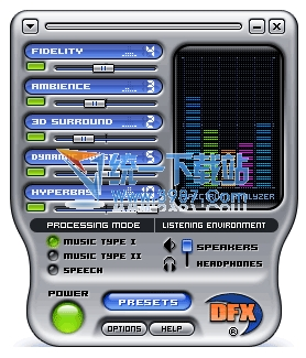 DFX for Windows Media Player音效插件 10.008官方版